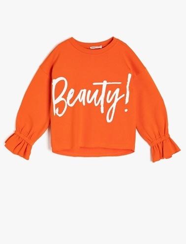 Koton Kids Sweatshirt Oranj